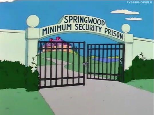 Simpsons prisao